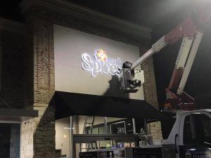 lighted sign repair and install
